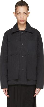 Craig Green , Black Quilted Workwear Jacket