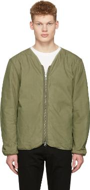Saturdays Nyc , Green Khari Liner Jacket