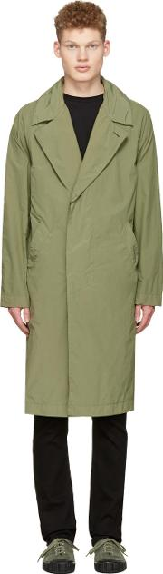 Saturdays Nyc , Green Malmo Trench Coat