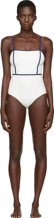 Solid And Striped , Off White The Lexi Swimsuit