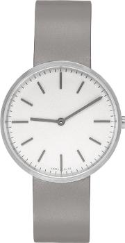 Uniform Wares , Silver And Grey Brushed M37 Watch