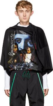 Yproject , Y Project Black Oversized Slim Shady T Shirt