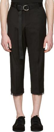 D By D , Black Belted Trousers
