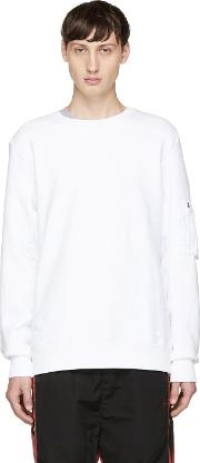 Tim Coppens , White Ma 1 Sweatshirt