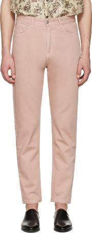 Cmmn Swdn , Pink Maxime Crop Jeans