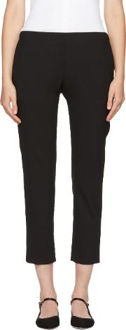 6397 , Black Pull On Trousers