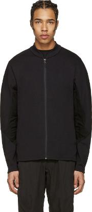 Arcteryx Veilance , Black Dyadic Zip Up Sweater
