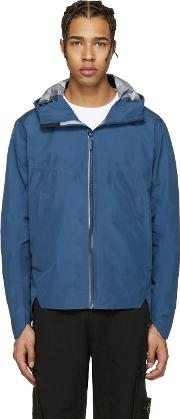 Arcteryx Veilance , Navy Arris Hooded Jacket