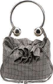 Ashley Williams , Black And Ivory Prince Of Wales Bag