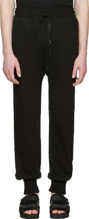 D By D , Black French Terry Lounge Pants