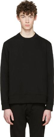 D By D , Black Panelled Pullover
