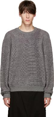 D By D , Grey Oversized Pullover