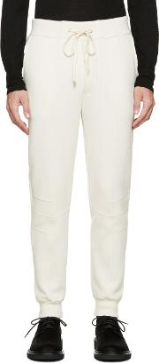 Dgnak By Kangd , D.gnak By Kang.d Ivory Lounge Pants