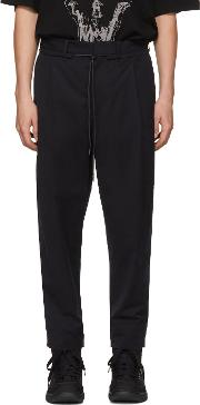 Diet Butcher Slim Skin , Diet Butcher Slim Skin Black Wide Tapered Trousers