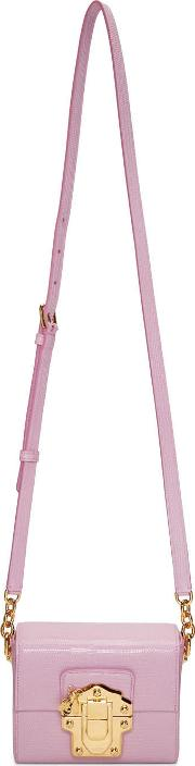 Dolce And Gabbana , Pink Lucia Lock Bag