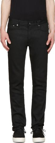 Herman , Black Slim Rocker Jeans