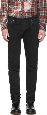 Herman , Black Vintage Slim Rocker Jeans