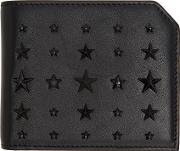 Jimmy Choo , Black Mixed Stars Albany Wallet