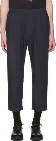 Markus Lupfer , Black Panelled Trousers