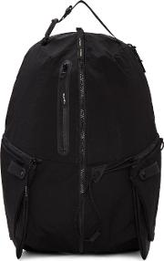 Masterpiece Co , Master Piece Co Black Zippers Backpack