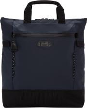 Masterpiece Co , Master Piece Co Navy Zip Pouch Tote Bag