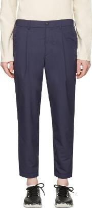 Nanamica , Navy Wind Trousers