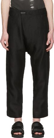 Nudemm , Nude Mm Black Tailor Trousers