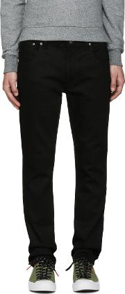 Nudie Jeans , Black Thin Finn Jeans