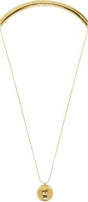 Prim By Michelle Elie , Gold Damia Necklace
