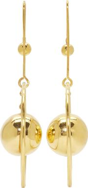 Prim By Michelle Elie , Gold Loy 20 Earrings