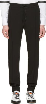 Pyer Moss , Black Classic Ribbed Trousers