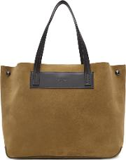Rag And Bone , Brown Suede Compass Everyday Tote