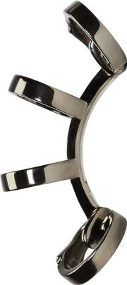 Repossi , Black Gold Multi Band Berbere Ear Cuff