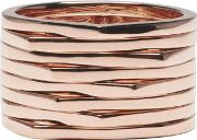 Repossi , Rose Gold 8 Rows Antifer Ring