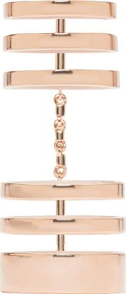 Repossi , Rose Gold Cage Berbere Ring