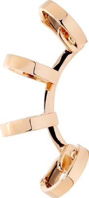 Repossi , Rose Gold Multi Band Berbere Ear Cuff