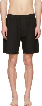 Saturdays Nyc , Black Trent Swim Shorts