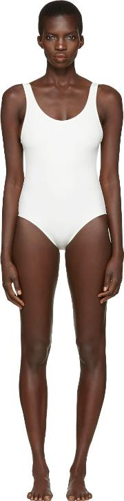 Solid And Striped , Off White The Anne Marie Swimsuit