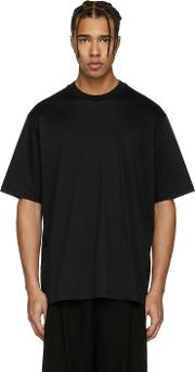Song For The Mute , Black Oversized Beau T Shirt