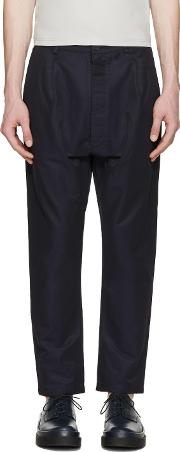 Sunnei , Navy Tapered Trousers
