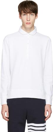 Thom Browne , White Collection Polo