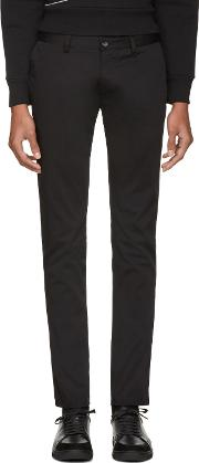 Tiger Of Sweden , Black Transit Chino Trousers
