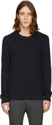 Tiger Of Sweden , Navy Addams Sweater