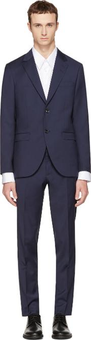 Tiger Of Sweden , Navy Wool Lamonte Suit