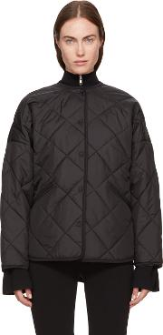 Toteme , Black Quilted Dublin Jacket