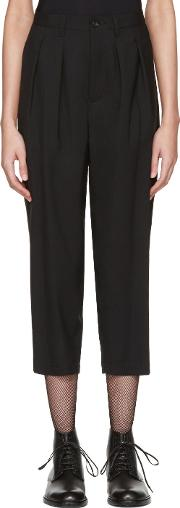 Tricot Comme Des Garcons , Black Overdyed Trousers