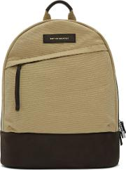 Want Les Essentiels , Beige Canvas Kastrup Backpack