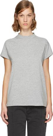 Won Hundred , Grey Proof High Neck T Shirt