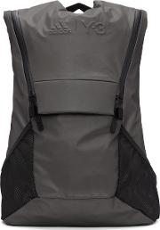 Y3 Sport , Y 3 Sport Grey Running Backpack