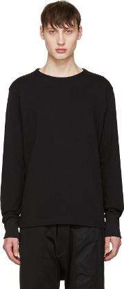 Y3 , Y 3 Black Future Craft Long Sleeve T Shirt